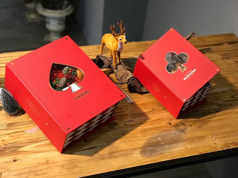居樂堂甜舖打造 暖心聖誕禮盒「夢與撲克」