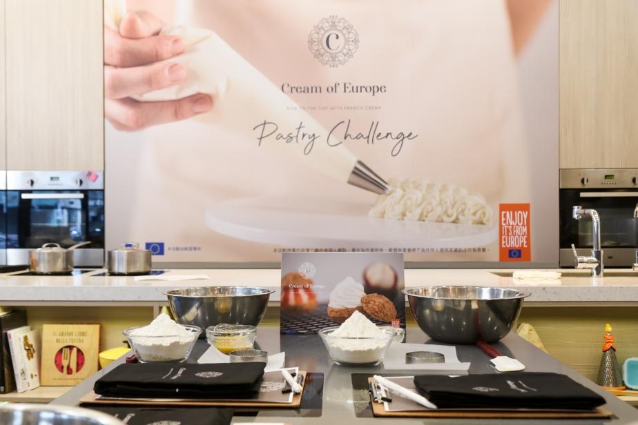 歐洲鮮奶油 pastry challenge12位KOL來挑戰