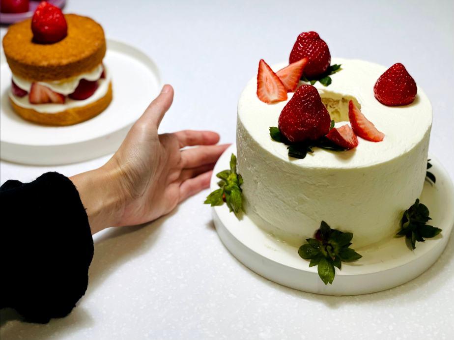 冬季甜點不能少了她!鮮奶油草莓蛋糕